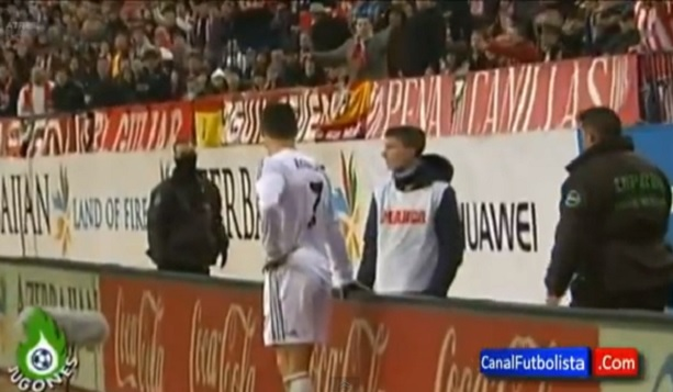 Cristiano Ronaldo owned by ball boy