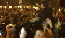 University of Dayton President Crowd-Surfs After Victory Over Syracuse (Video)