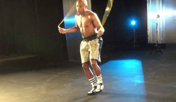 Floyd Mayweather Jumping Rope