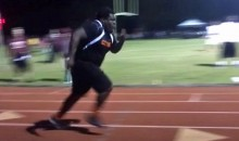 300-Pound Temple Football Recruit Can Run Ridiculously Fast (Video)