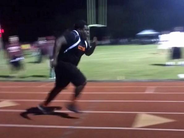 Freddie Booth-Lloyd Track Run