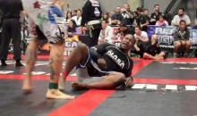 Grappler Submits After Taking Vomit-Inducing Fart to the Face From Opponent (Video)