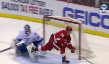 Tampa Bay Lightning the Latest to Learn That the Wings' Gustav Nyquist Can't Be Stopped (Video)