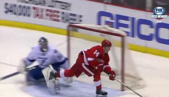 Gustav Nyquist goal vs lightning