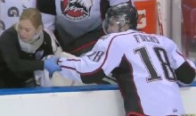 Quebec Junior Hockey Player Loses Fingertip After Blocking a Slapshot (Video)