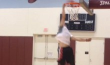 Watch Johnny Manziel Throw Down a 360 Dunk (Video)