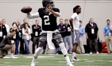 Johnny Manziel Looked and Acted Like a Superstar at His Pro Day Yesterday (GIFs)