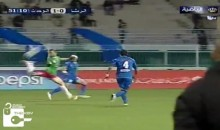 Jordan Soccer League Produces Ridiculous 35-Yard Backheel Goal (Video)