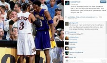 Kobe Bryant Takes to Instagram to Congratulate Allen Iverson Following Retirement Ceremony (Photo)