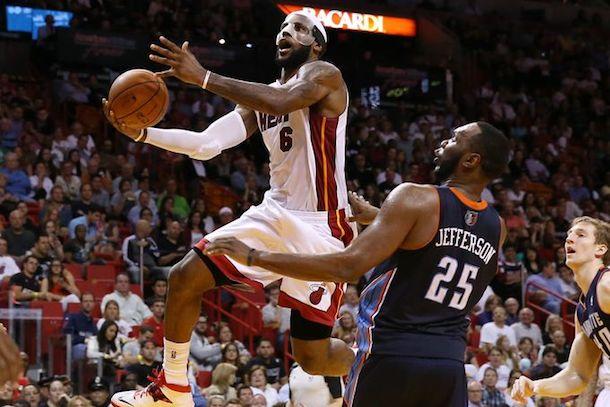 LeBron James 61 points