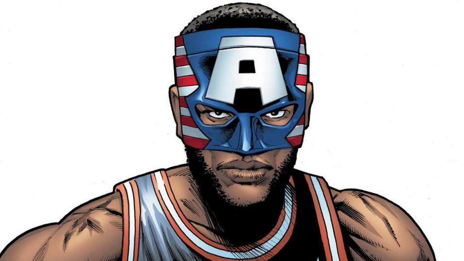LeBron James Superhero Mask