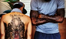 LeBron James and Dude With Giant LeBron Tattoo Take Picture Together (Photo)