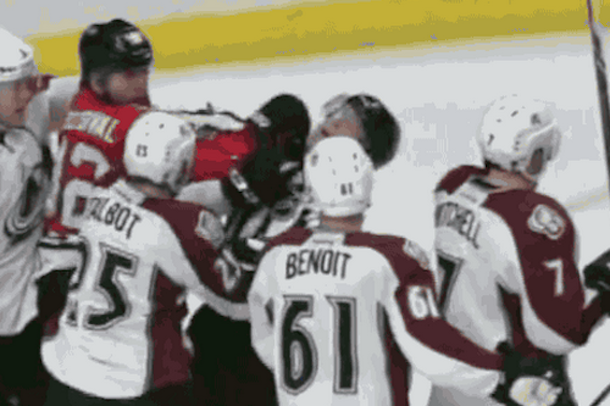 NHL referee punched in face knockout