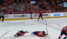 Nasty Collision Between Capitals' Alex Ovechkin and Jack Hillen Leaves Both Players in a World of Hurt (Video)