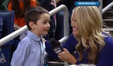 Phil Martelli's Copycat Grandson Provides Adorable Interview for TBS (Video)