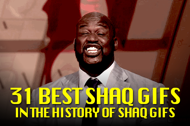 Shaq GIFs (Shaquille O'Neal GIFs)