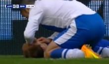 Soccer Player Saves Opponent's Life During Game (Video)
