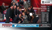 TSN's TradeCentre Broadcast Features Awesome Selfie and Dude Singing Songs About Martin St. Louis (Videos)