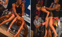 Watch Usain Bolt Daggering a Woman in Trinidad & Tobago (Video)
