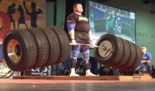 Zydrunas Savickas Breaks World Deadlift Record at 1,155 Pounds (Video and GIF)