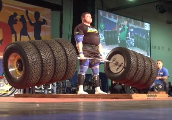 Zydrunas Savickas Breaks Deadlift Record