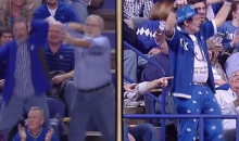 Watch These Kentucky Basketball Fans Dance Their Grown Man Hearts Out  (Video)