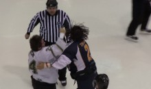 Incredible Hockey Fight Ends With High-Five Between Combatants (Video)