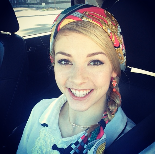 gracie gold - hot female athltes instagram