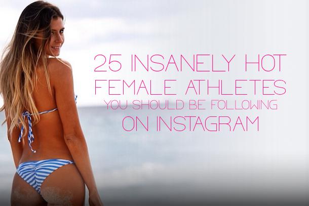 hottest female athletes instagram