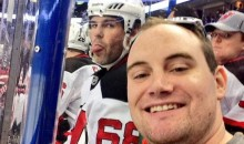 Jaromir Jagr's Epic Photobomb Makes a Fan's Selfie Go Viral (Pic)