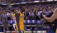 Lance Stephenson Gets Ejected After Two Skirmishes with Dwyane Wade (Videos)