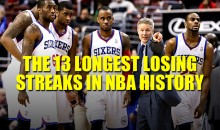 The 13 Longest Losing Streaks in NBA History