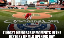 11 Most Memorable Moments in the History of MLB Opening Day