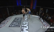 Check Out This 1 Second MMA Knockout From WCMMA 14 (Video)