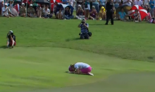 Watch Paula Creamer Win the HSBC Women's Championship with Miracle 75-Foot Eagle Putt (Video)