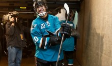 San Jose Sharks Give Youth Hockey Player with Heart Condition the Experience of a Lifetime (Video)