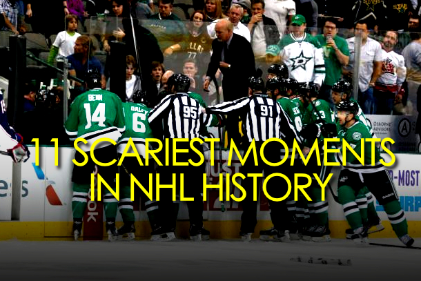 scariest moments nhl history