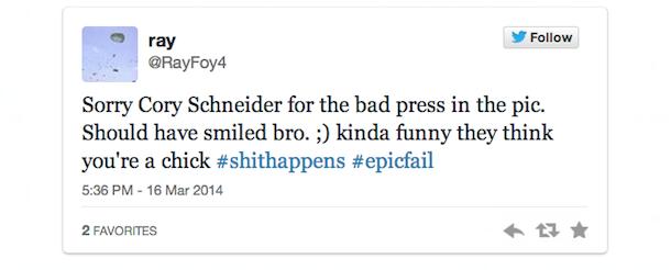schneider tweet