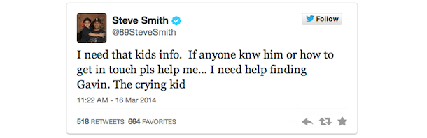 steve smith fan tweet 1