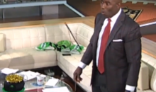 Terrell Davis's Priceless Reaction to Yesterday's Earthquake in L.A. Was Caught on Camera (Video)
