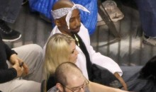 Celtics Fans Cheer For Tupac Look-Alike During Game vs. Warriors Because Their Team Sucks (Pic + Video)
