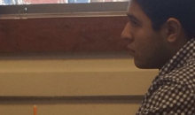 PHOTO: Student Finds Simple Trick for Watching March Madness in Class