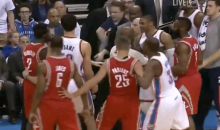 It Didn't Take Long for Russell Westbrook and Patrick Beverley to Get Into It Last Night (Videos)