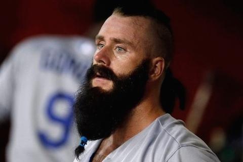 1 brian wilson beard - mlb beards facial hair 2014