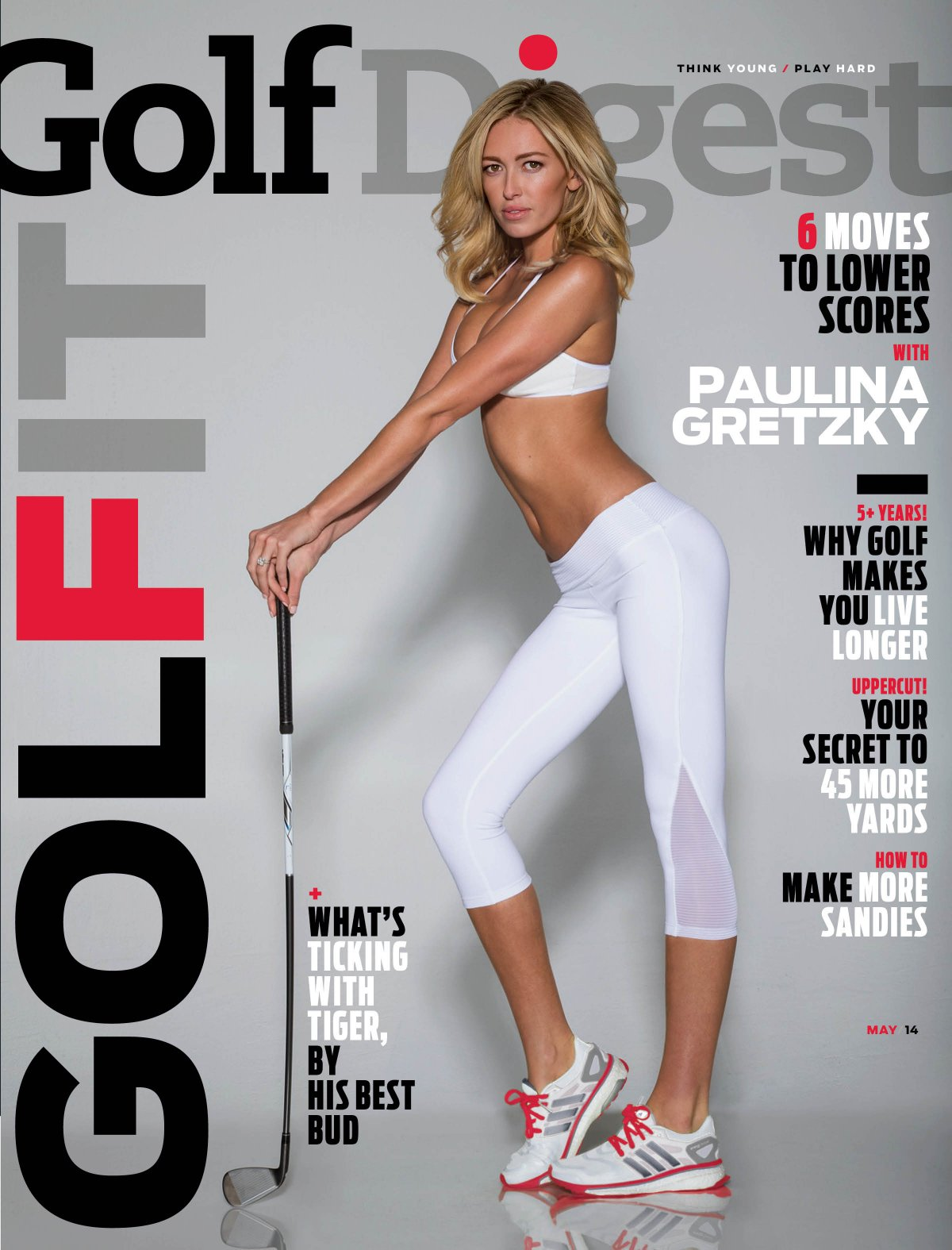 1 paulina gretzky golf digest cover - masters wags