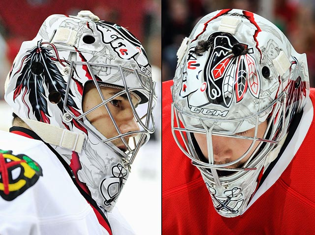 10 corey crawford (chicago blackhawks) - best goalie masks nhl 2013-14