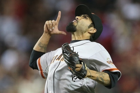 11 sergio romo goatee - mlb beards facial hair 2014