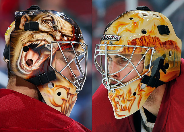 11 thomas griess (phoenix coyotes) - best goalie masks nhl 2013-14