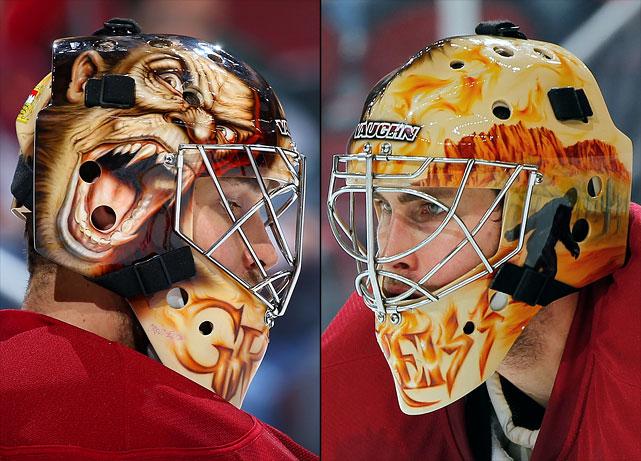 11 thomas griess (phoenix coyotes) - best goalie masks nhl 2013-14