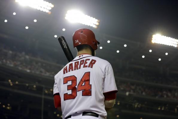 12 Bryce Harper - best selling jerseys in mlb 2014